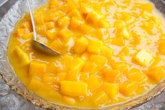 манго льда Стоковая Фотография