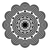 Мандала вектора конспекта индийская Арабский, элемент бесплатная иллюстрация