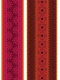мандала граници знамени цветастое Стоковые Изображения RF