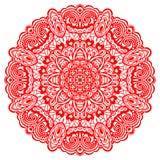 Мандала цветка. Абстрактный элемент для дизайна иллюстрация вектора