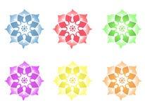 мандала цветка Стоковые Фото