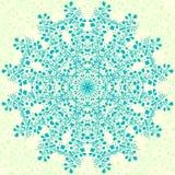 Мандала цветка иллюстрация вектора