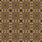 Мандала цветного стекла фрактали Стоковое Изображение