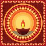 мандала diwali Стоковое Фото