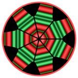 мандала kwanzaa иллюстрация вектора
