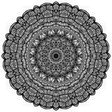 Мандалы для книжка-раскраски Декоративные круглые орнаменты необыкновенно иллюстрация вектора