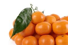 мандарины вороха Стоковые Изображения RF