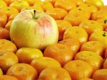 мандарины яблока Стоковое Изображение