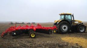 Маневры Аграрная выставка Зеппелина тракторы Стоковое Изображение