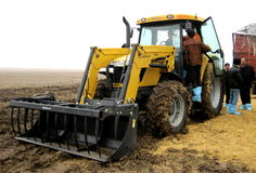 Маневры Аграрная выставка Зеппелина тракторы Стоковое Изображение RF