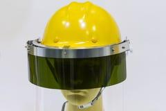 манекены с шлемом и застекленным солнцезащитным щитком безопасности Стоковые Фото