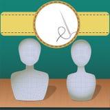 манекены 2 Иллюстрация вектора