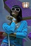 Манекен в витрине Стоковое Фото