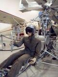 Манекен в Rotorcycle (одиночный вертолет человека) Стоковое Изображение RF