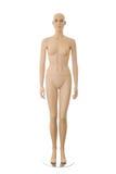 манекен изолированный женщиной Стоковые Фото
