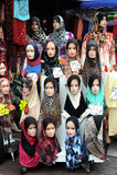 Манекен с Hijab стоковая фотография rf