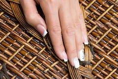 Маникюр пальцев рук Стоковые Изображения RF