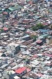 Манила от самолета стоковые фотографии rf