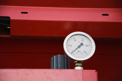 Манометр - датчик давления Стоковая Фотография