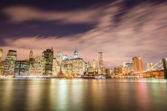 Манхаттана в Нью-Йорке, США Стоковое фото RF