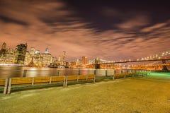 Манхаттан в Нью-Йорке, США Стоковое Изображение RF
