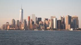 Манхаттан, Нью-Йорк, США стоковые изображения rf