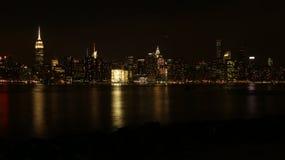 Манхаттан от Бруклина стоковые изображения