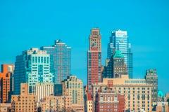 Манхаттан, NY стоковые изображения rf