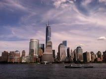 Манхаттан, NYC Стоковые Фотографии RF