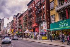Манхэттен Китай Town-2 стоковая фотография