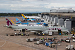 Манчестерский аэропорт Стоковые Фото
