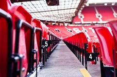 МАНЧЕСТЕР, АНГЛИЯ: Старый стадион Trafford Стоковая Фотография