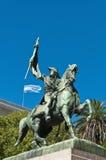Манюэль Belgrano, создатель аргентинского флага. стоковые фото