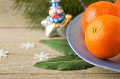 мандарины Стоковая Фотография RF