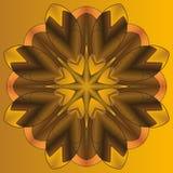 Мандала, круглая картина орнамента, элемент для дизайна Стоковые Фотографии RF