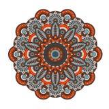мандала Круглая картина орнамента Стоковые Фотографии RF