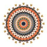 мандала Круглая картина орнамента Стоковые Фото