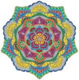 Мандала мозаики иллюстрация вектора