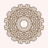Мандала орнамента Геометрический элемент круга сделанный в векторе Совершенные карточки для любого другого вида дизайна, дня рожд Стоковое фото RF