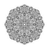 мандала Этнические декоративные элементы рука нарисованная предпосылкой востоковедно Стоковая Фотография