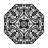 мандала Этнические декоративные элементы рука нарисованная предпосылкой Востоковедная картина Стоковые Изображения RF