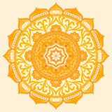 мандала Этнические декоративные элементы Стоковое Изображение RF