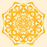мандала Этнические декоративные элементы Стоковое Фото