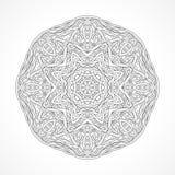 мандала Этнический декоративный индеец элементов, ислам, арабские мотивы Стоковое фото RF