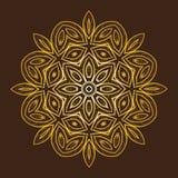 мандала Элементы круглого орнамента винтажные декоративные Стоковые Фото