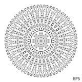 мандала Элементы круглого орнамента винтажные декоративные Стоковая Фотография RF