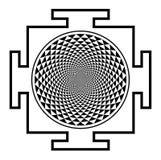 Мандала chakra Sahasrara Стоковое Изображение