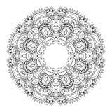 Мандала Deco вектора красивая Стоковые Изображения RF