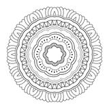 Мандала Deco вектора красивая Стоковое Фото