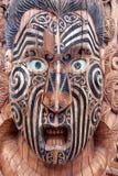 Маорийская маска стоковое изображение